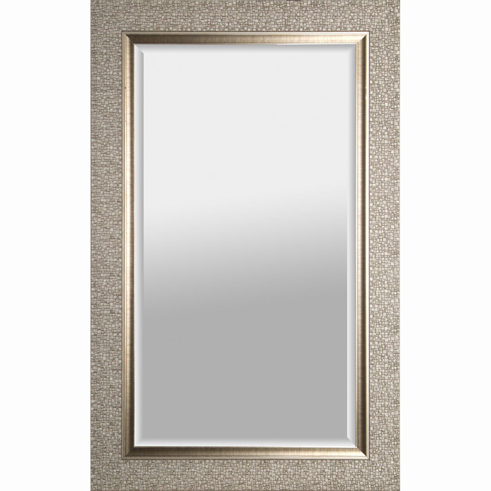 hobbitholeco Designer Beveled Wall Mirror by Overstock