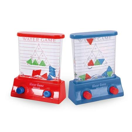 Aqua Mini Pinball Arcade Toy, Party favors, Travel Toy, Water Handheld Games (Aqua Party Supplies)