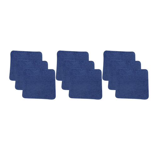 Mainstays 9pk Utility Cloth, Blue Summer