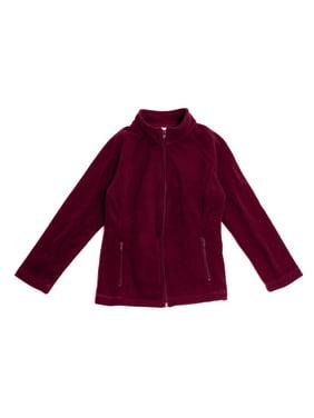 Real School Girls School Uniform Fem Fit Fleece Jacket (Little Girls & Big Girls)