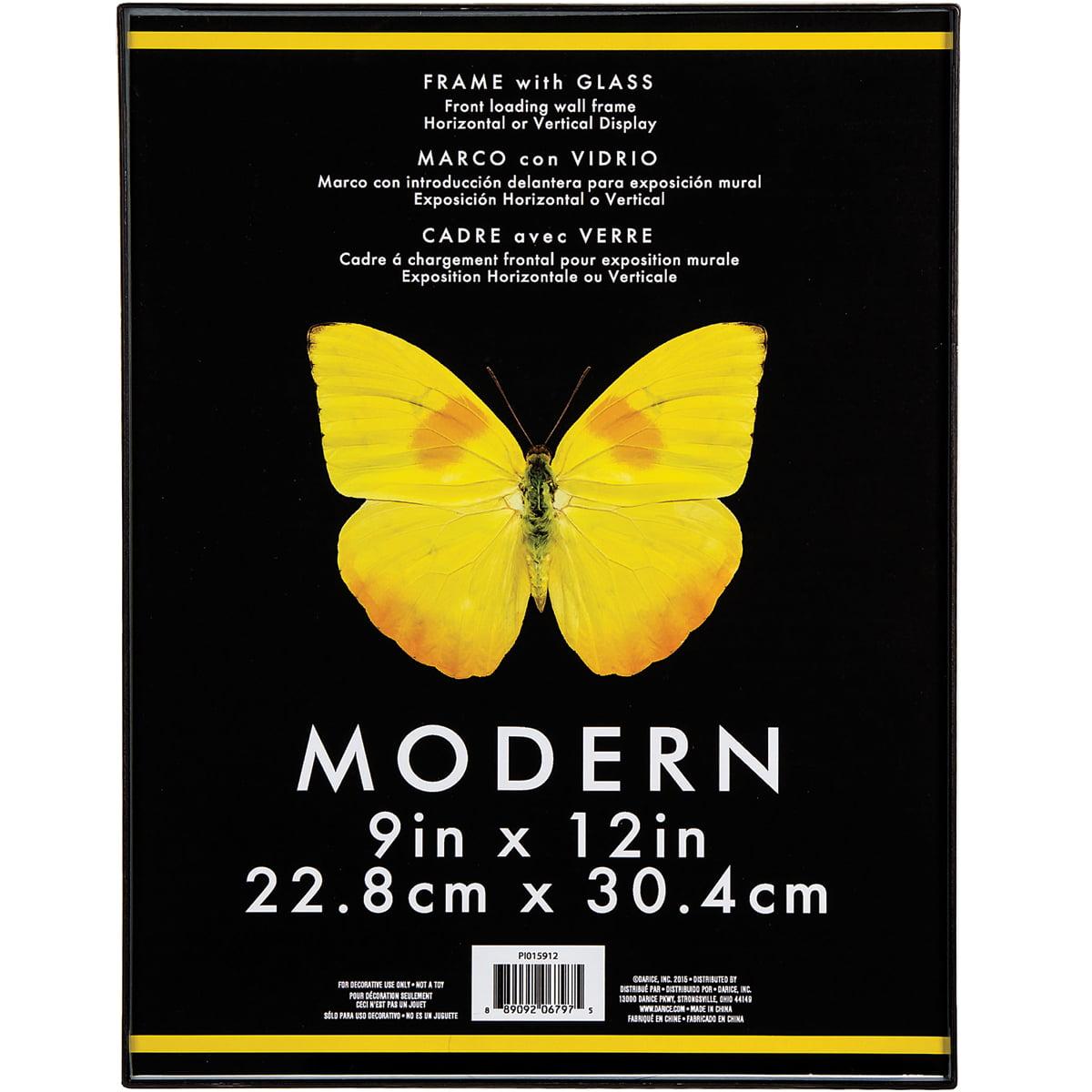 Modern Plastic W/Glass Photo Frame 9\