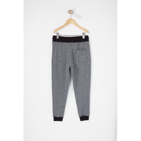 Urban Kids Youth Boy's Boys Contrast Zip Active Jogger - image 1 of 2