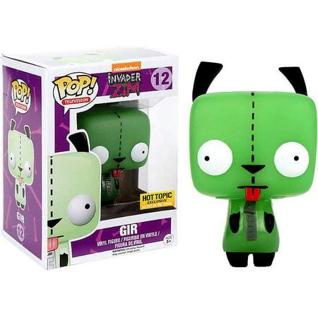Invader Zim Funko POP! Animation Gir Vinyl Figure [Glow-in-the-Dark] - Invader Zim Episode Halloween