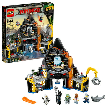 LEGO Ninjago Movie Garmadon's Volcano Lair 70631 (521 Pieces) - Lego Ninjago Nya