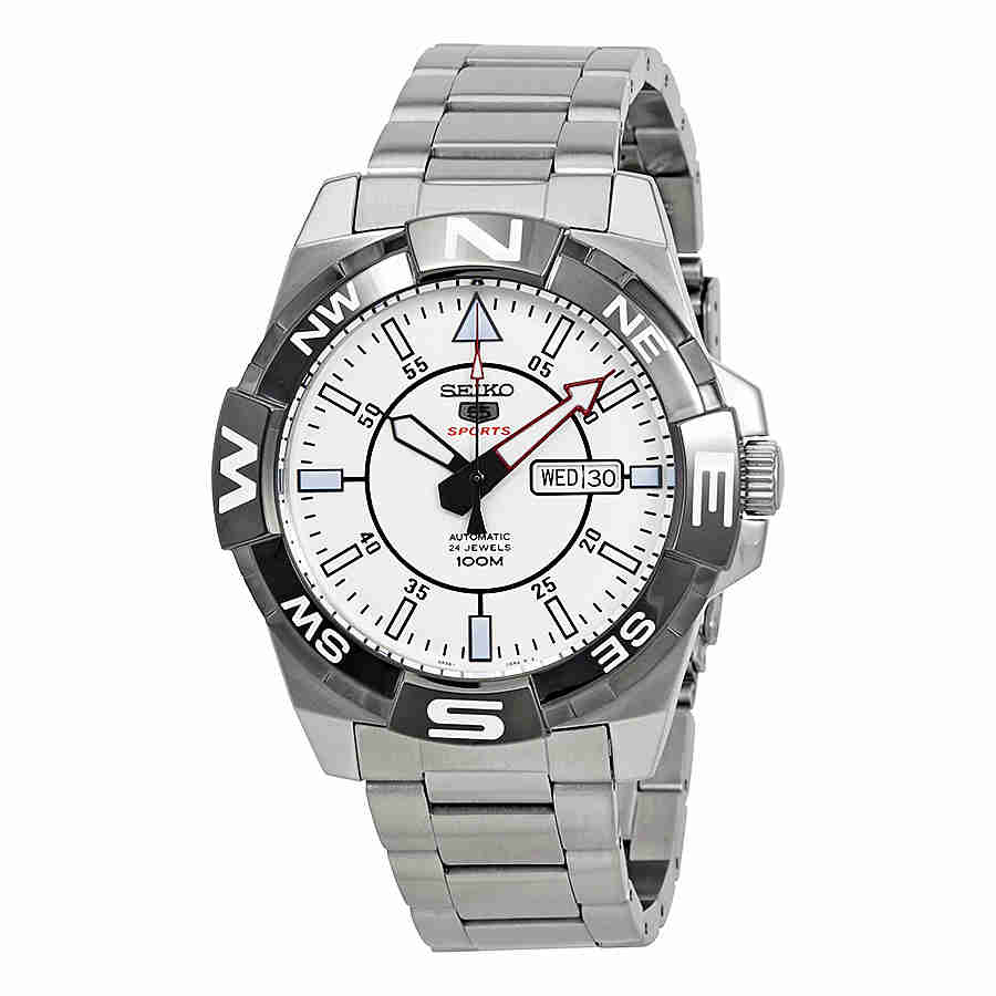 Seiko 5 Automatic White Dial Ladies Watch SRPA63