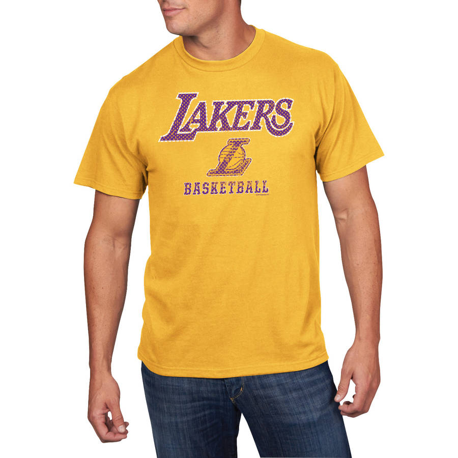 NBA Big Men's Los Angeles Lakers Short Sleeve Tee