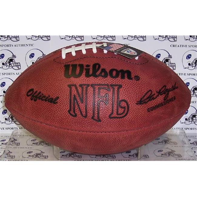 Creative Sports Enterprises WILSON-F1006 Wilson Official NFL Football - Throwback Pete Rozelle