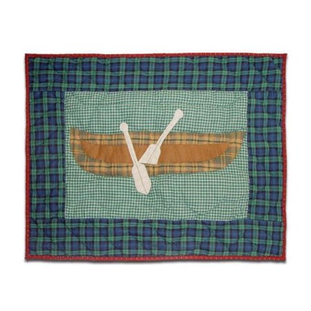 Patch Magic Cabin Canoe Pillow Sham