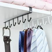 Bluelans Iron Wardrobe 6 Hooks Clothes Gadget Hanger Storage Rack Kitchen Organizer Shelf