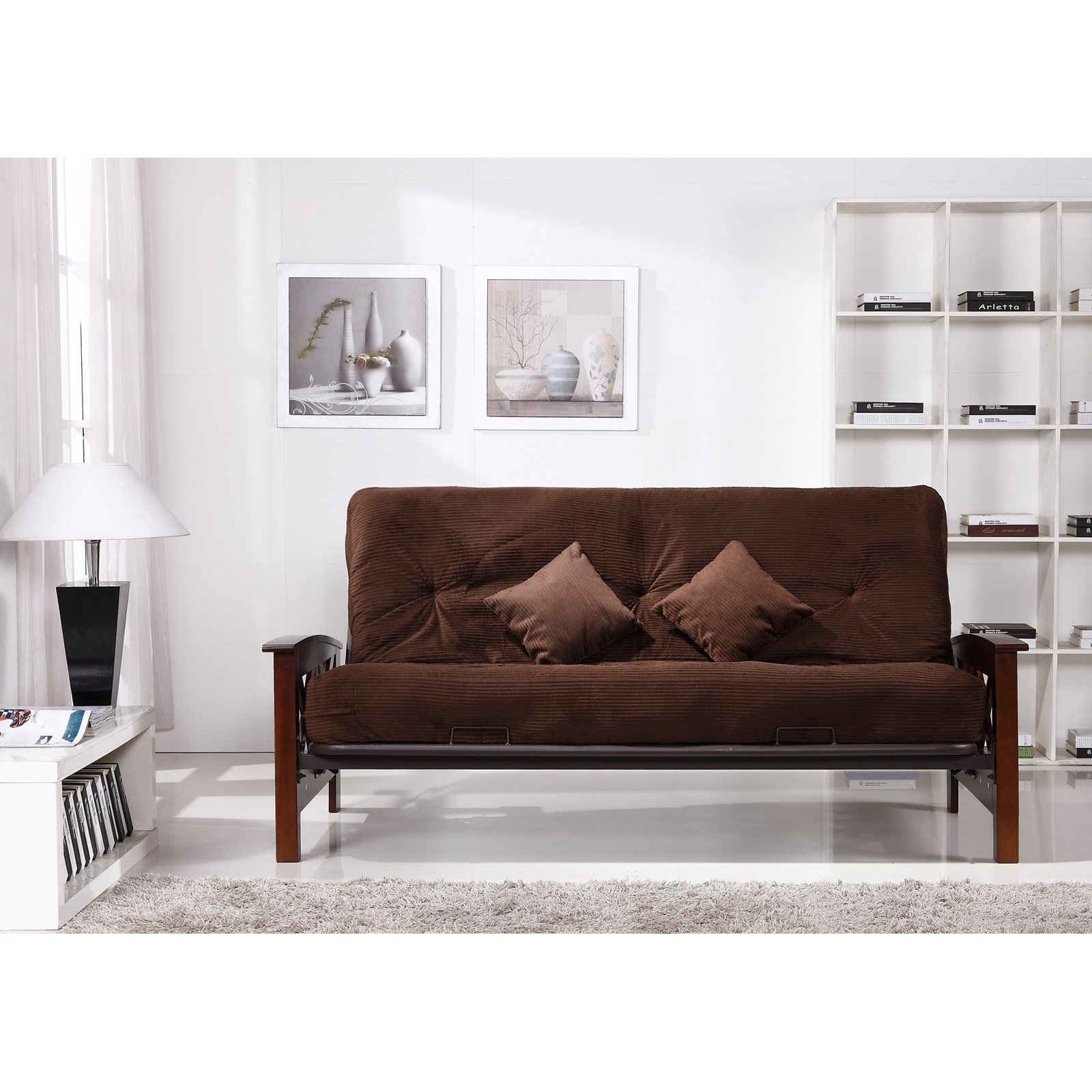 Primo International Trenton Upholstered Futon