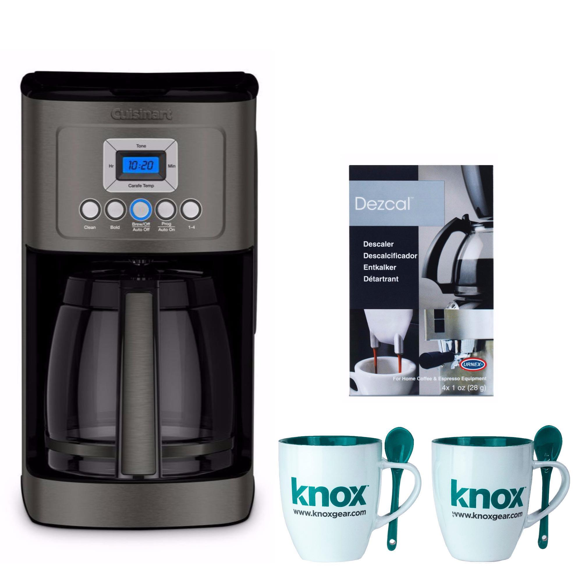 Cuisinart DCC-3200BKS Perfectemp Coffee Maker (Certified Refurbished Bundle)