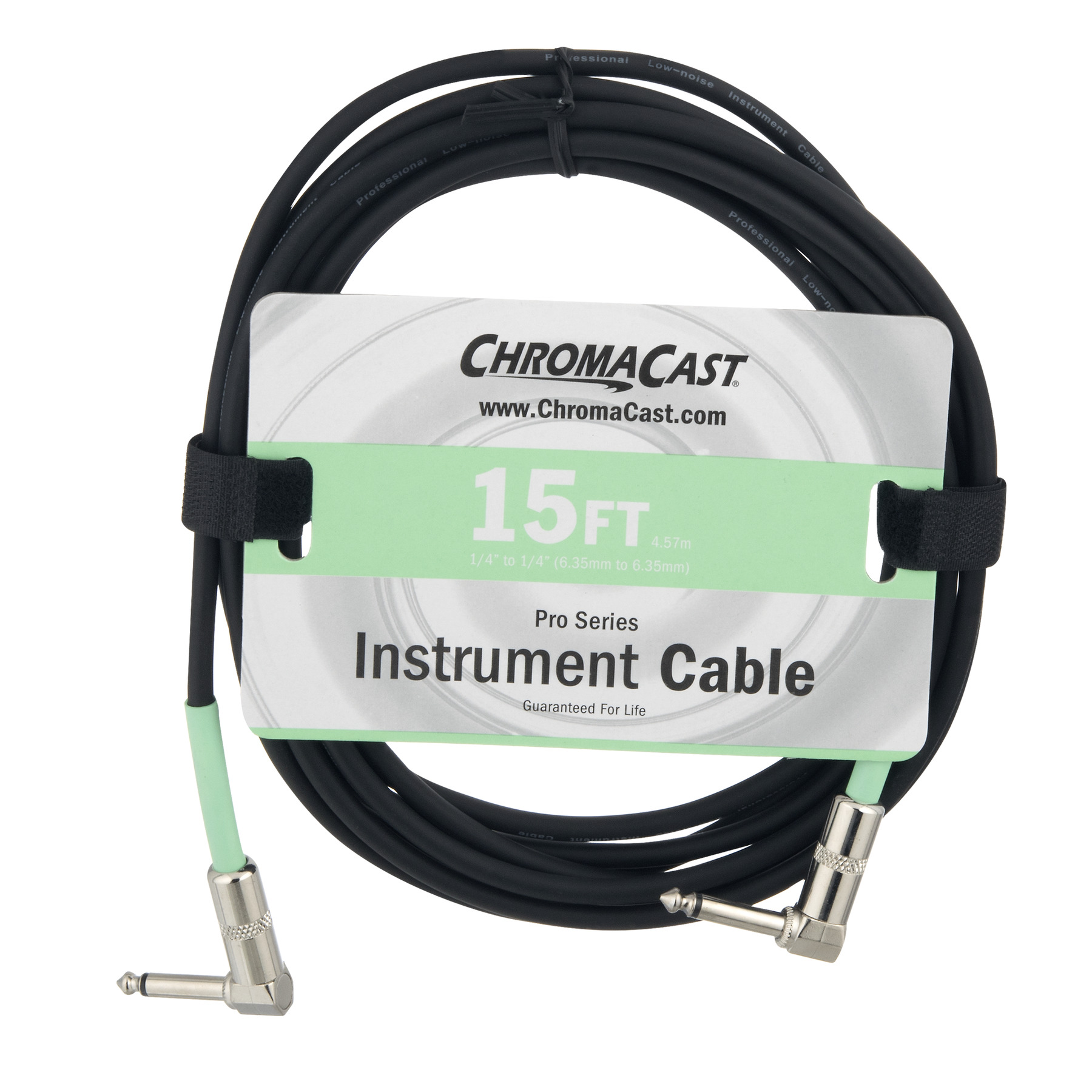 Chroma Cast Pro Series Instrument Cable 15 FT, 1.0 CT