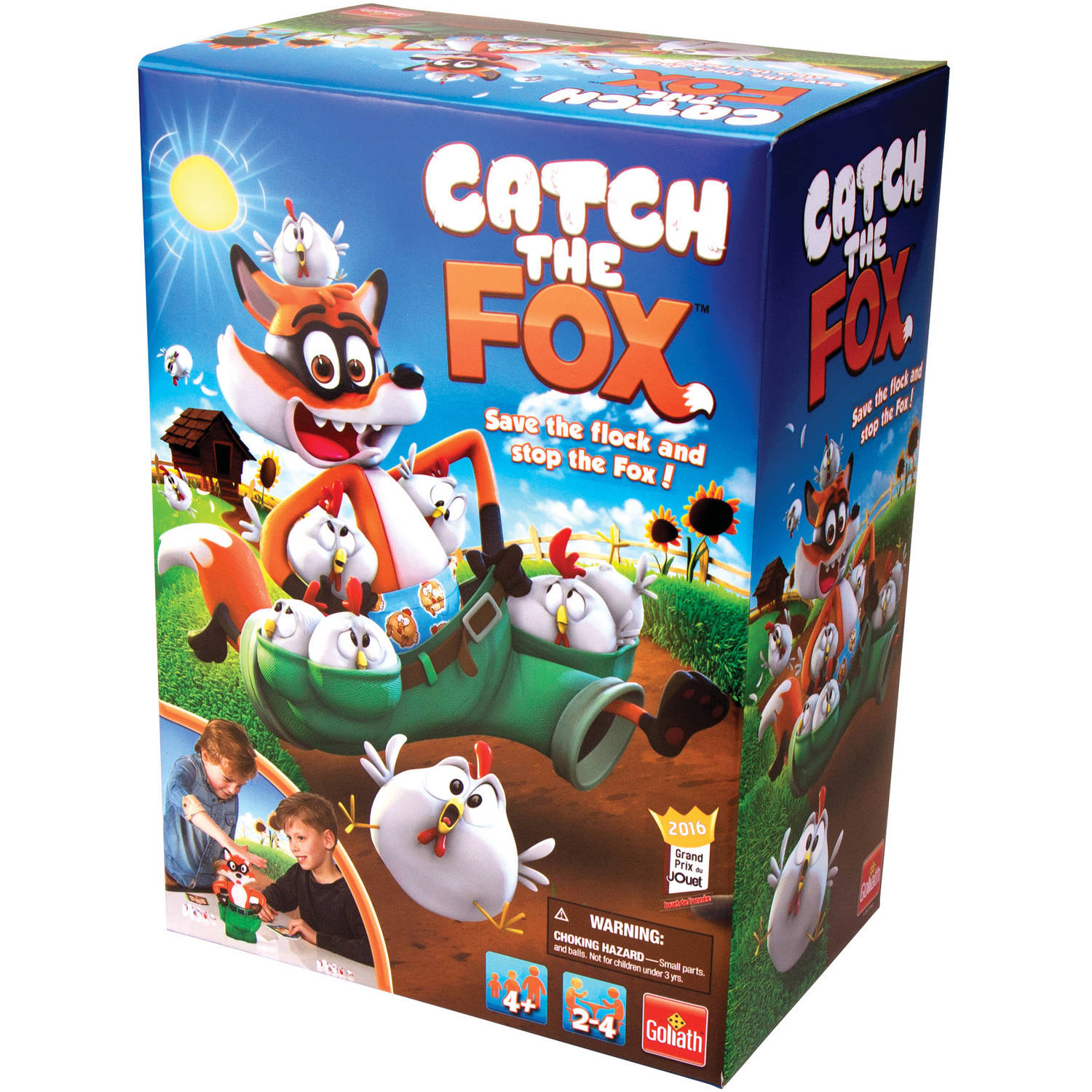 Goliath Games Catch the Fox Ages 4+ Toy of the Year 2016