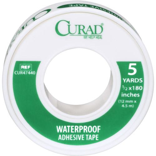 Curad Waterproof Adhesive Tape, 16ct