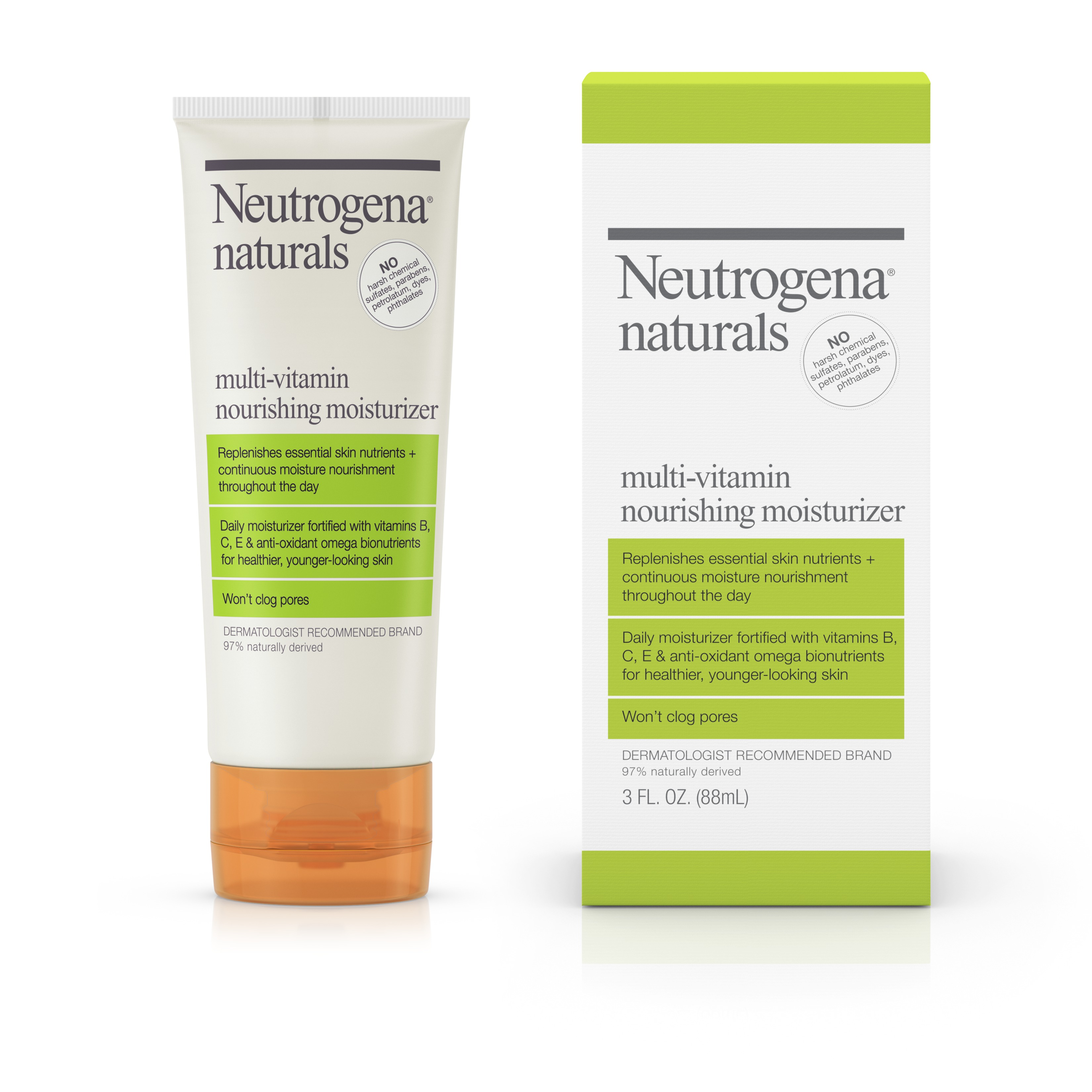 Neutrogena Naturals Multi-Vitamin Daily Face Moisturizer, 3 fl. oz