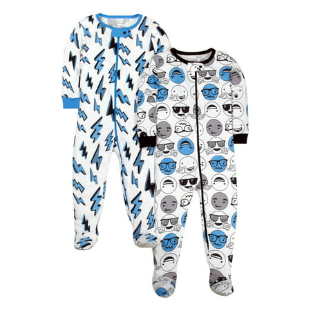 887bd166b Little Star Organic - Tight Fit Stretchie Footed Pajamas