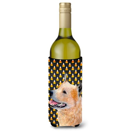 Australian Cattle Dog Candy Corn Halloween Portrait Ultra Beverage Insulators for slim cans - Halloween Date Australia