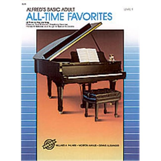 Alfred Alfred's Basic Adult Piano Course All-Time Favorites Book 1