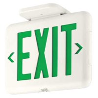 HUBBELL LIGHTING - DUAL-LITE Exit Sign,LED EVEUGWEI