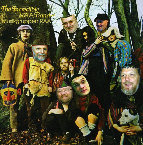 Musikgruppen Raa - Incredible String Bands [CD]