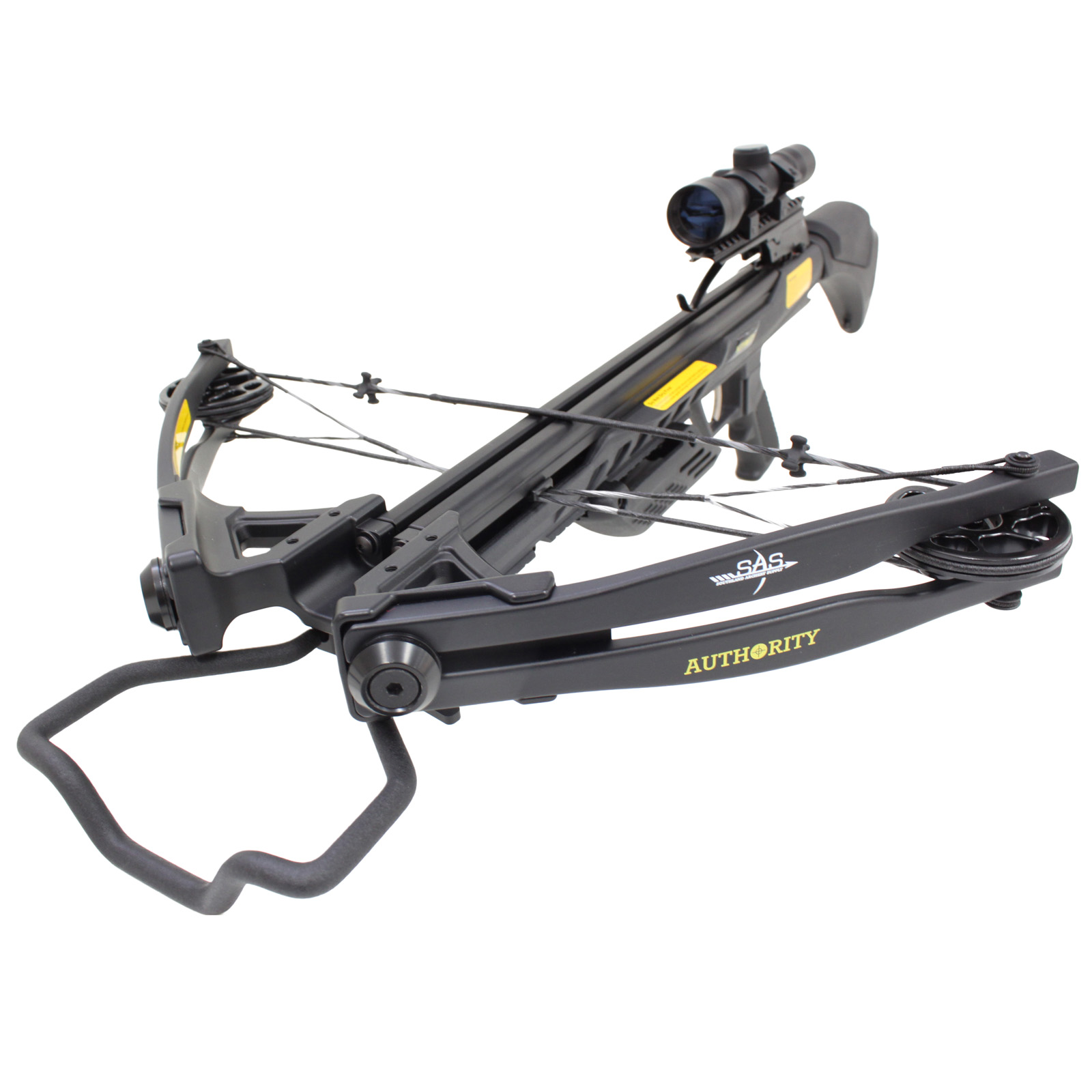 SAS Authoirity 175lbs Compound Crossbow Package - Black