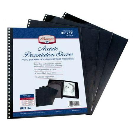 Archival Polyester Sleeve - Alvin Prestige Series Archival Polyester Sleeves, Size: 14x17