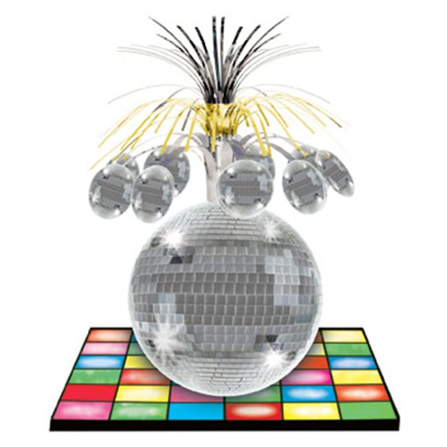 Beistle - 57764 - Disco Ball Centerpiece- Pack of 12