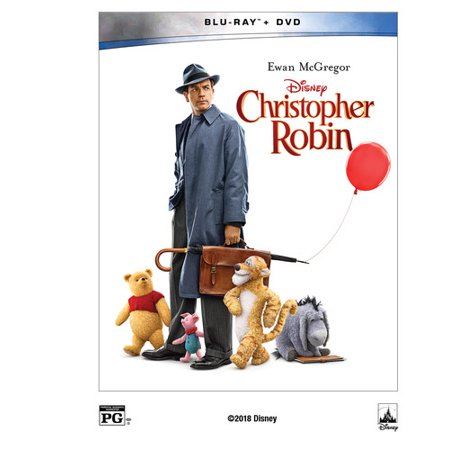 Christopher Robin (Walmart Exclusive) (Blu-ray + - Naughty Robin