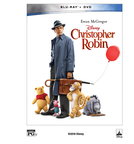 Christopher Robin (Walmart Exclusive) (Blu-ray + DVD)