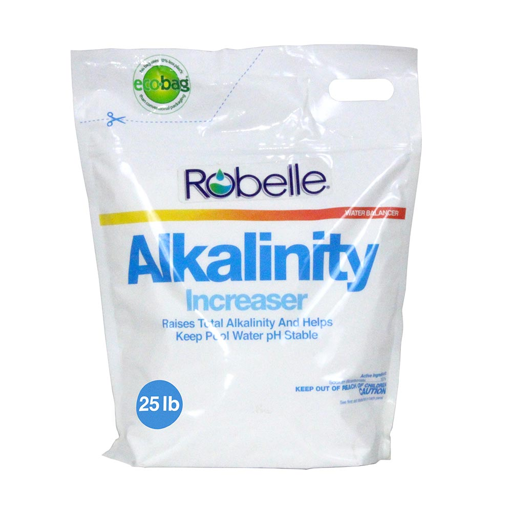 Robelle Total Alkalinity Increaser for Swimming Pools, 25 Pounds
