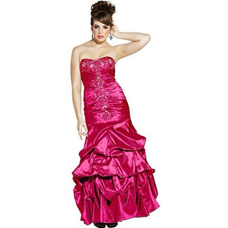 Beaded Taffeta Long Evening Gown Prom Homecoming (Beaded Taffeta Evening Dress)