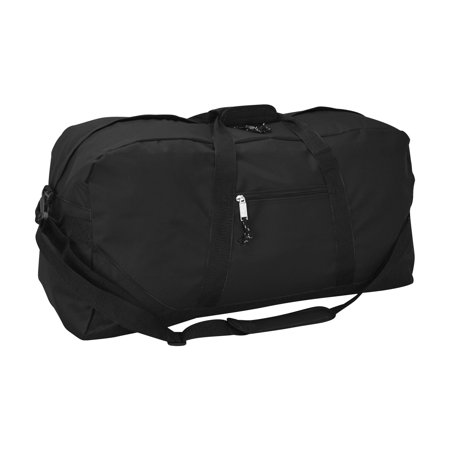Dalix 25 Adventure Large Gym Sports Duffle Bag In Black