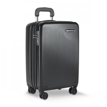 briggs & riley sympatico carry-on cx spinner, black Briggs & Riley Wrinkle Free Carry On