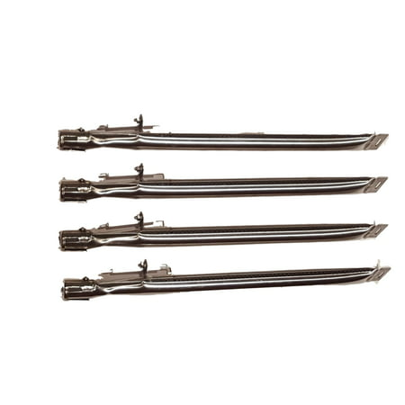 Set of 5 replacement stainless steel burners with electrodes for Bbq Grill model from Uniflame, Backyard grill and BHG grill models