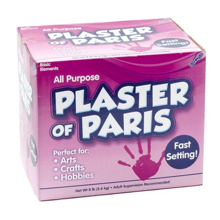 Kids craft plaster of paris 8 lbs for Paris themed crafts for kids