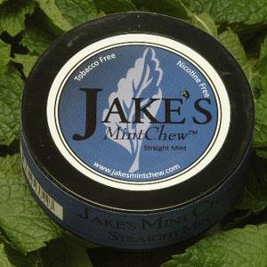 Jake's Mint Chew - Straight Mint - 5 pack - Tobacco & Nicotine Free!