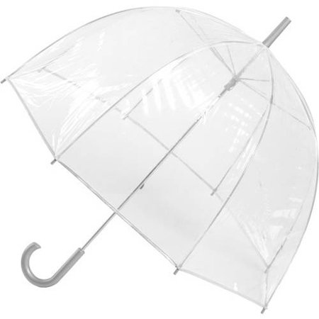 - Totes Classic Canopy Clear Bubble Umbrella