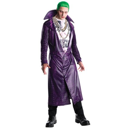 Suicide Squad: Joker Deluxe Adult Costume - Girls Joker Costume