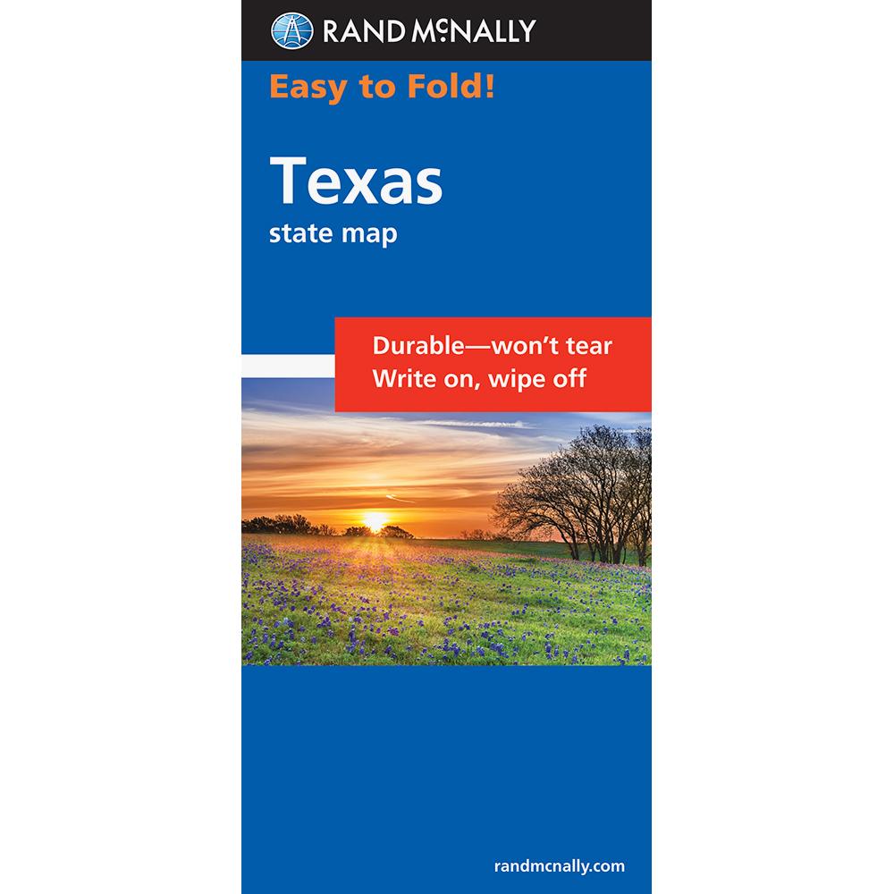 Rand Mcnally Easyfinder Texas