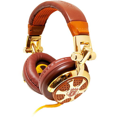 iFrogz EarPollution Billionaire DJ-Style Headphones EP-DJ-BILLION