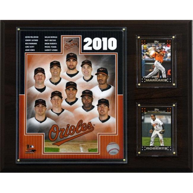 C & I Collectibles 1215BO10 MLB Baltimore Orioles 2010 Club Plaque - image 1 de 1