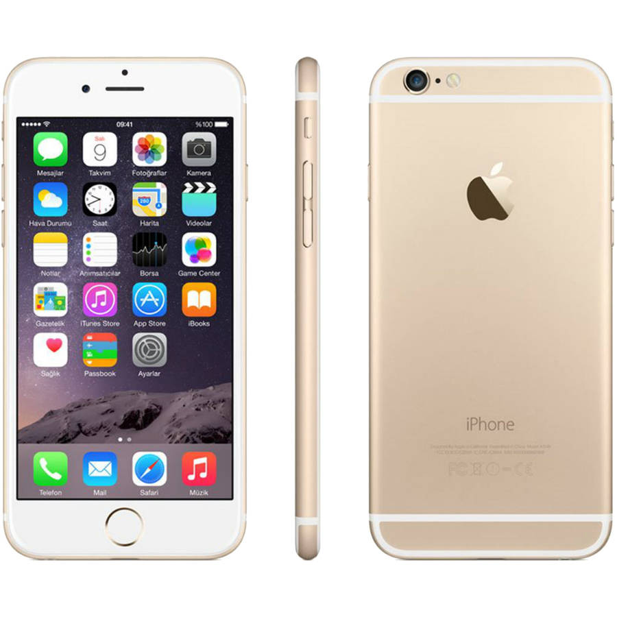h2o wireless iphone refurbished apple iphone 6 gsm prepaid smartphone with 30 5701