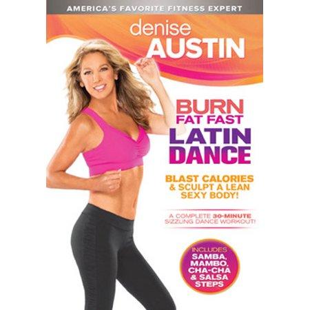 DENISE AUSTIN-BURN FAT FAST LATIN DANCE (DVD) (WS/ENG/2.0 ...