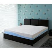 "GranRest 10"" Aquarius Memory Foam Mattress Queen Blue 10FM01Q"