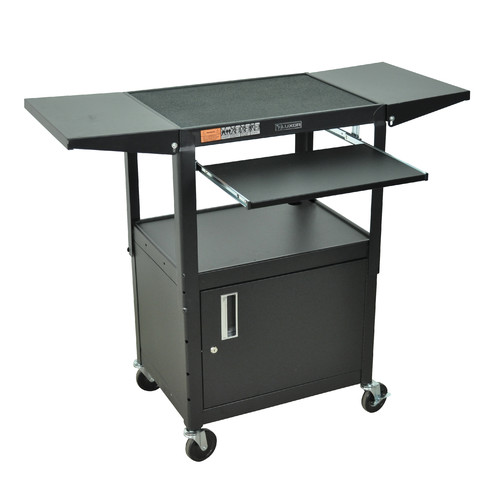 Luxor Compact Computer Workstation AV Cart