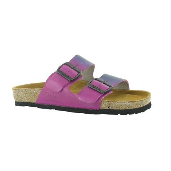 daf4b2a4449f Naot - Naot Women s Santa Barbara Purple Teal Leather Sandals 38 EU   7-7.5  US M US - Walmart.com