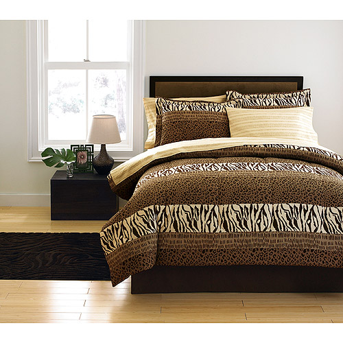 Hometrends Kalib Bed in a Bag Set, Brown