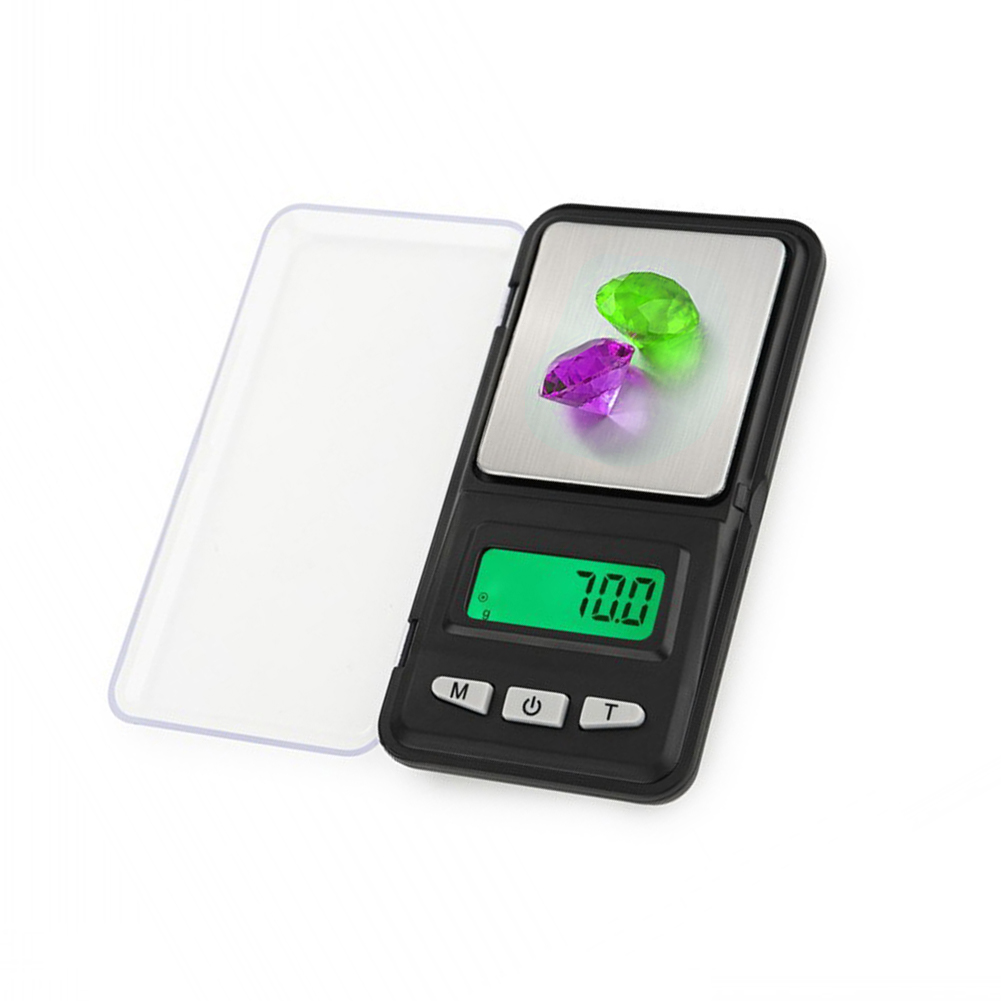 200g//0.01 Precise Digital Scale Pocket Palm Weighing Jewelry LCD Backlight
