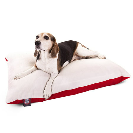 "Majestic Pet Pillow Dog Bed - Red - M 30""x40"""