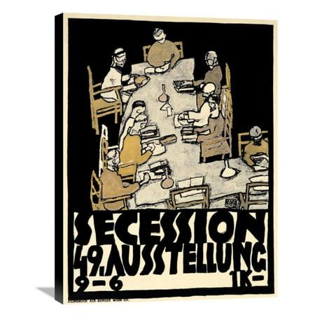 Global Gallery Secession/49. Kunstausstellung Wall Art ()